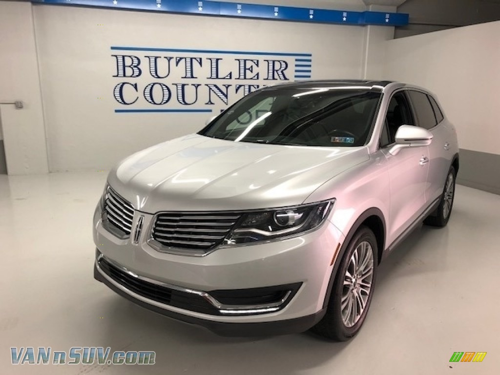 2018 MKX Reserve AWD - Ingot Silver Metallic / Ebony photo #1