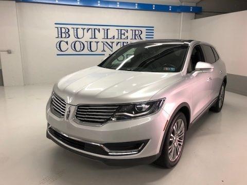Ingot Silver Metallic 2018 Lincoln MKX Reserve AWD