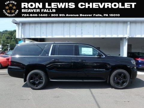 Black 2019 Chevrolet Suburban LT 4WD