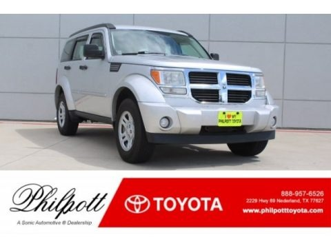 Bright Silver Metallic 2011 Dodge Nitro Heat