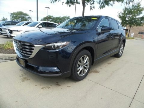 Deep Crystal Blue Mica 2019 Mazda CX-9 Touring AWD