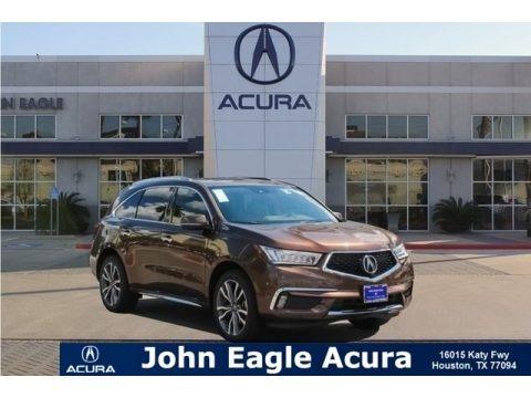 Canyon Bronze Metallic 2019 Acura MDX