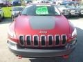 Jeep Cherokee Trailhawk 4x4 Deep Cherry Red Crystal Pearl photo #8