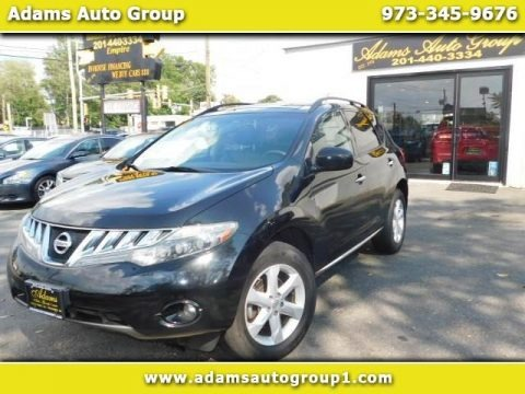 Super Black 2009 Nissan Murano S AWD