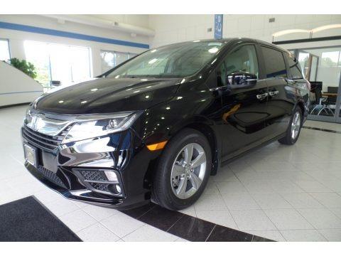 Crystal Black Pearl 2019 Honda Odyssey EX