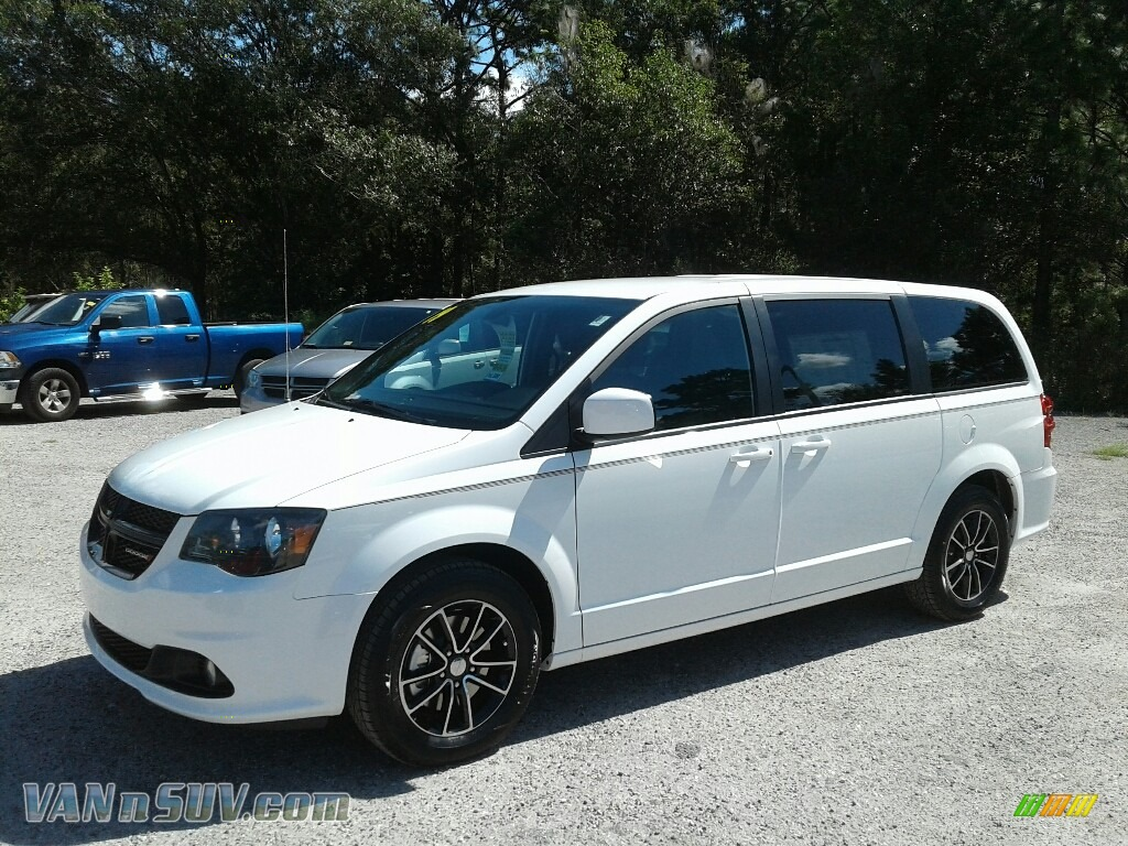 2019 Grand Caravan SXT - White Knuckle / Black photo #1