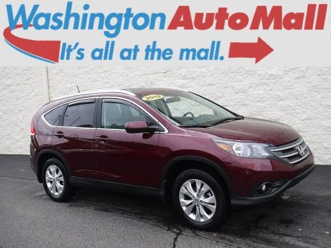 Basque Red Pearl II 2012 Honda CR-V EX-L 4WD