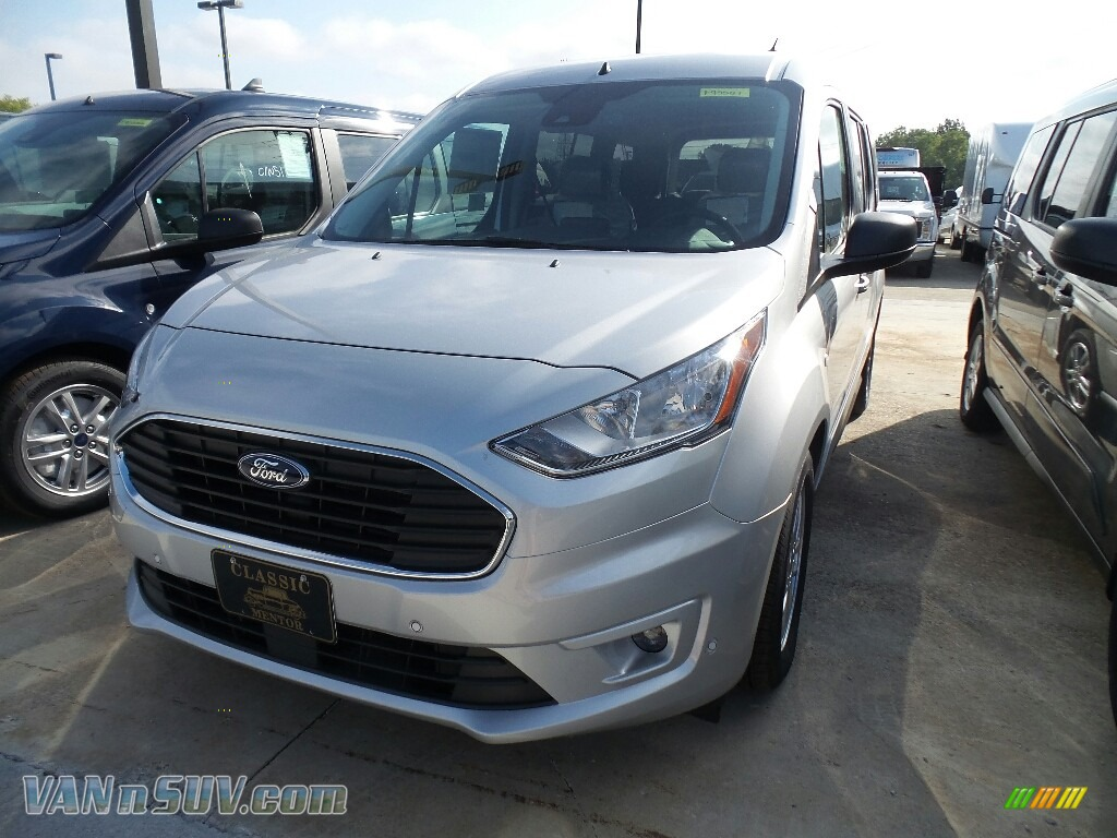 Ingot Silver / Palazzo Grey Ford Transit Connect XLT Passenger Wagon