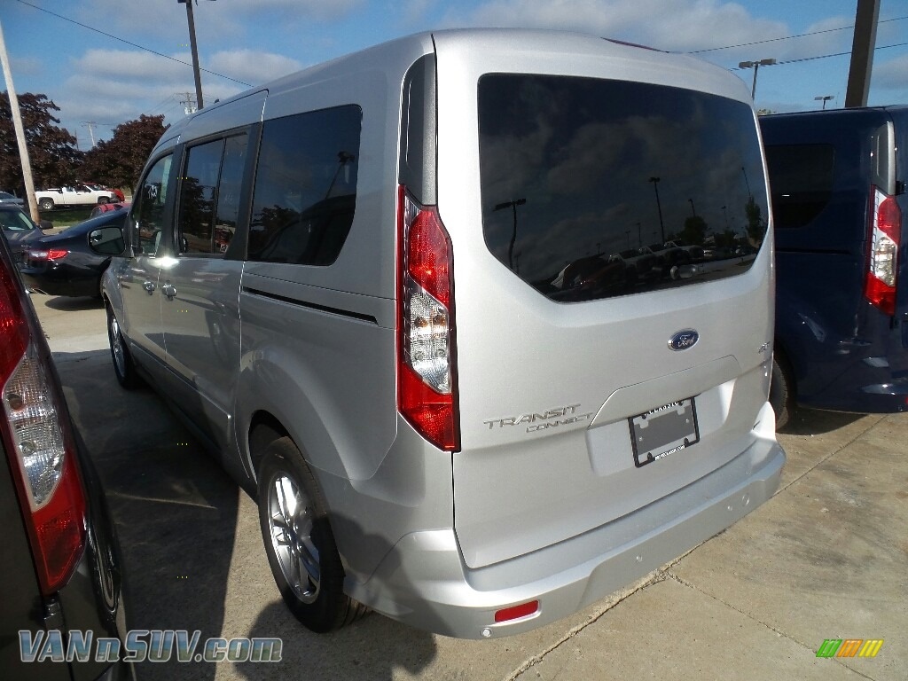 2019 Transit Connect XLT Passenger Wagon - Ingot Silver / Palazzo Grey photo #3