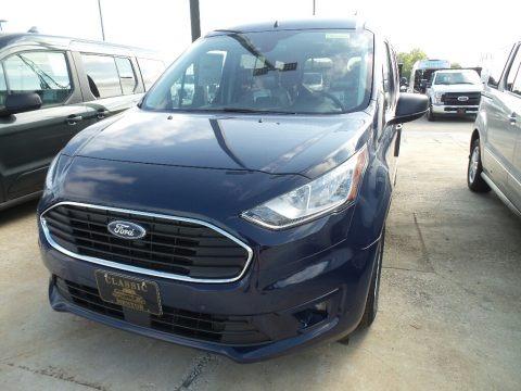 Dark Blue 2019 Ford Transit Connect XLT Passenger Wagon