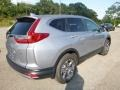 Honda CR-V EX AWD Lunar Silver Metallic photo #4