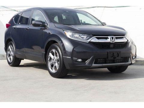 Gunmetal Metallic 2018 Honda CR-V EX-L