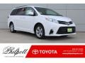 Toyota Sienna LE Super White photo #1