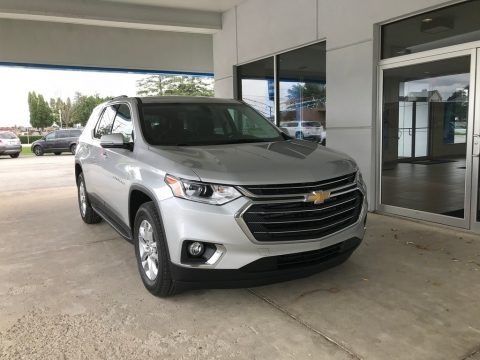 Silver Ice Metallic 2019 Chevrolet Traverse LT