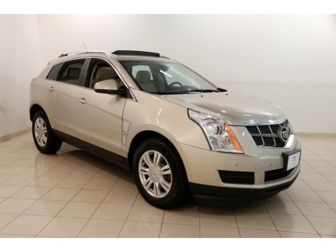Gold Mist Metallic 2012 Cadillac SRX Luxury AWD