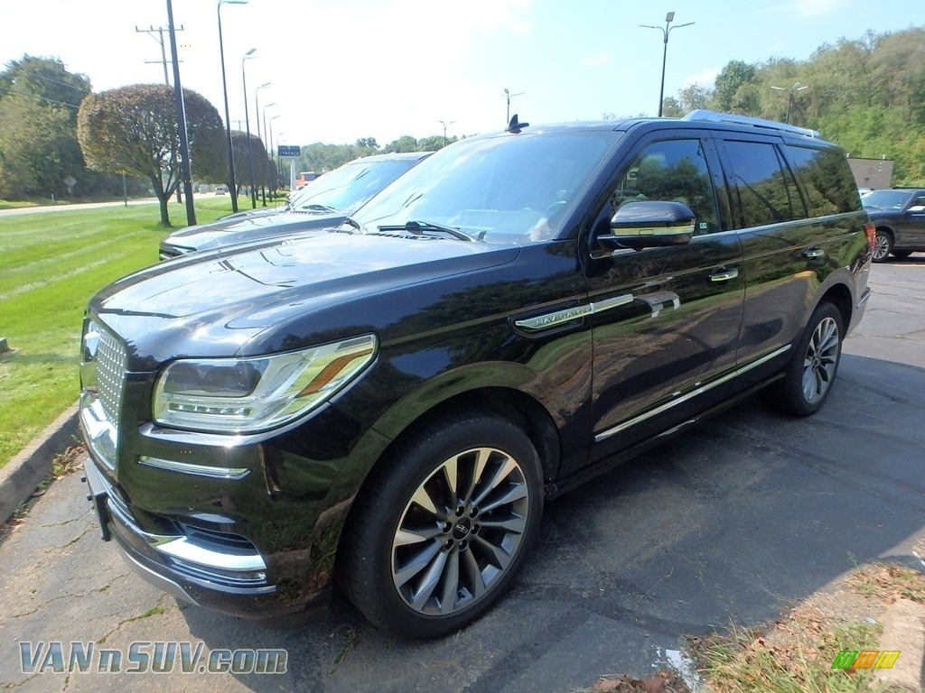 2018 Navigator Select 4x4 - Black Velvet / Ebony photo #1