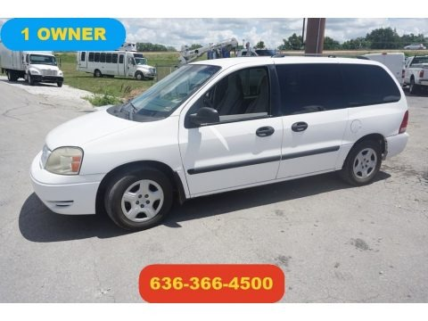 Vibrant White 2005 Ford Freestar SE
