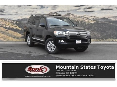 Midnight Black Metallic 2019 Toyota Land Cruiser 4WD