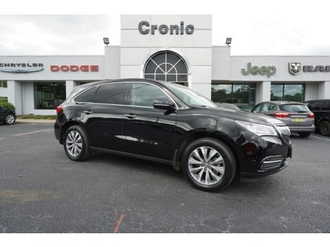 Crystal Black Pearl 2014 Acura MDX SH-AWD Technology