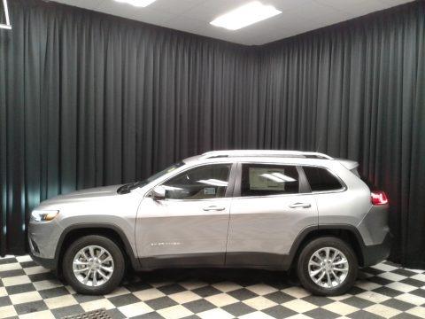 Billet Silver Metallic 2019 Jeep Cherokee Latitude 4x4