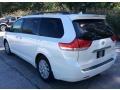 Toyota Sienna Limited AWD Super White photo #4