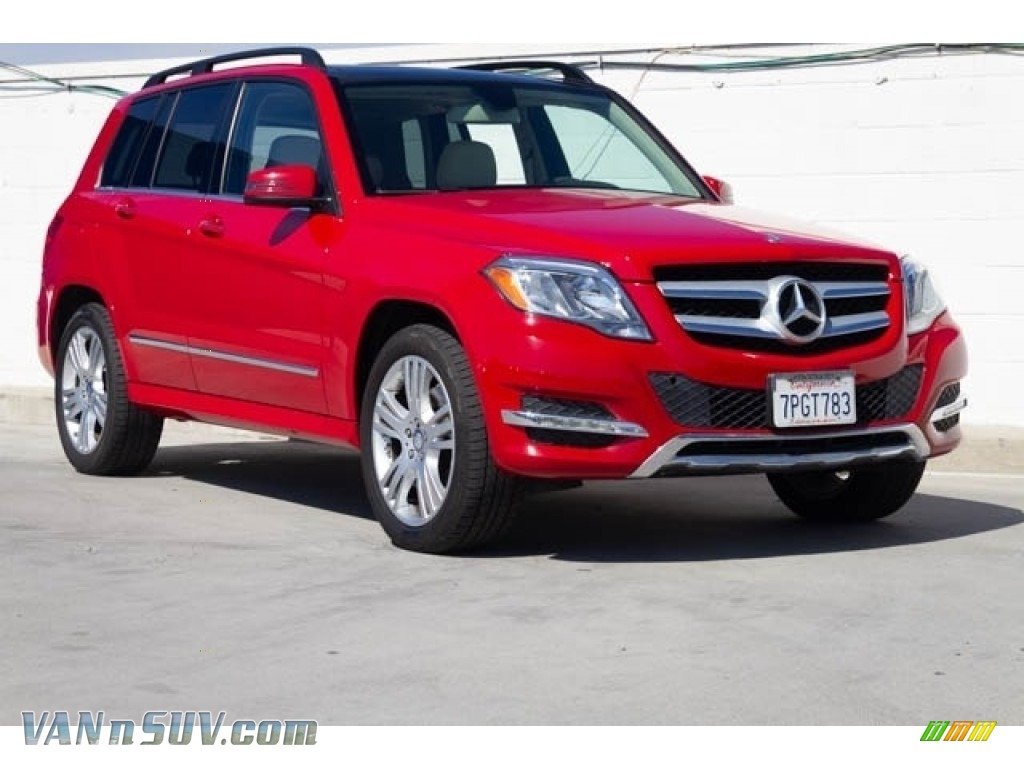 2015 GLK 350 - Mars Red / Sahara Beige/Mocha photo #1