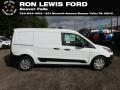 Ford Transit Connect XL Van White photo #1