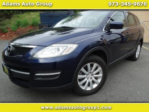 Stormy Blue Mica 2009 Mazda CX-9 Touring AWD
