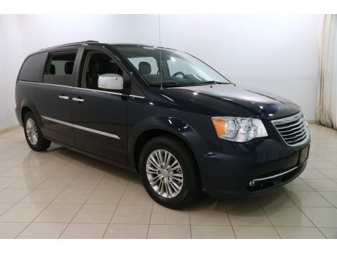 True Blue Pearl 2015 Chrysler Town & Country Touring-L