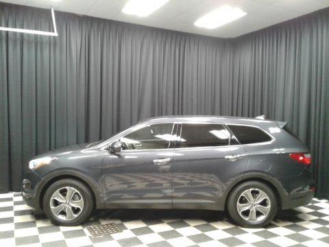 Night Sky Pearl 2013 Hyundai Santa Fe GLS