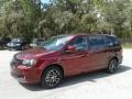 Dodge Grand Caravan SE Plus Octane Red Pearl photo #1