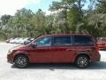 Dodge Grand Caravan SE Plus Octane Red Pearl photo #2