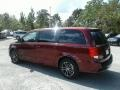 Dodge Grand Caravan SE Plus Octane Red Pearl photo #3