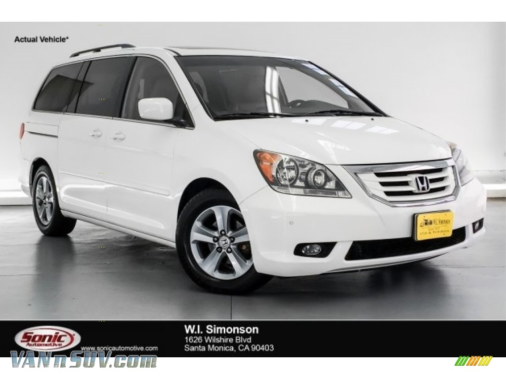 2010 Odyssey Touring - Taffeta White / Beige photo #1