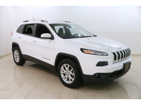 Bright White 2016 Jeep Cherokee Latitude 4x4