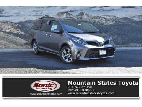 Predawn Gray Mica 2019 Toyota Sienna SE AWD