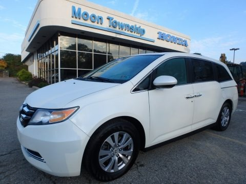 White Diamond Pearl 2016 Honda Odyssey EX-L
