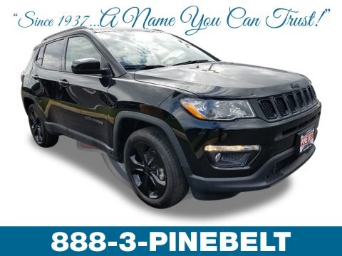 Diamond Black Crystal Pearl 2019 Jeep Compass Altitude 4x4