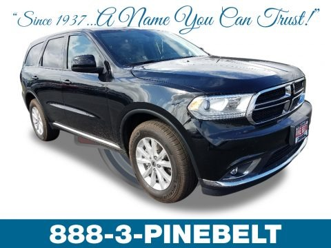DB Black 2019 Dodge Durango SXT AWD