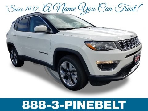 White 2019 Jeep Compass Limited 4x4