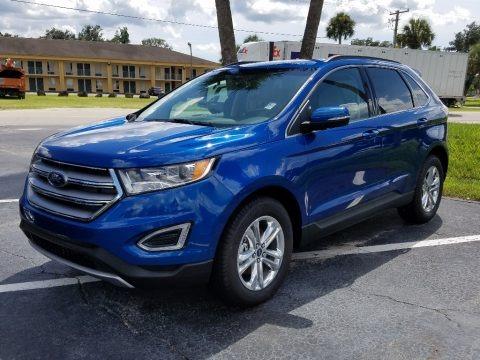 Lightning Blue 2018 Ford Edge SEL