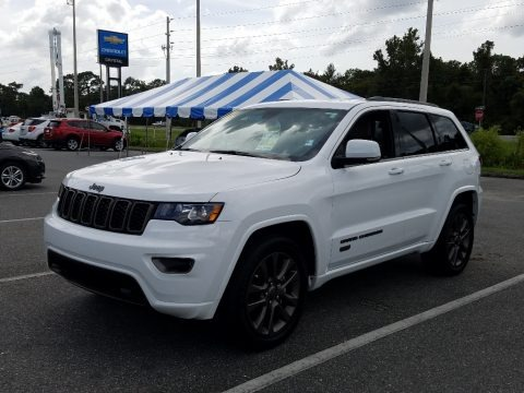 Bright White 2017 Jeep Grand Cherokee Limited 75th Annivesary Edition 4x4