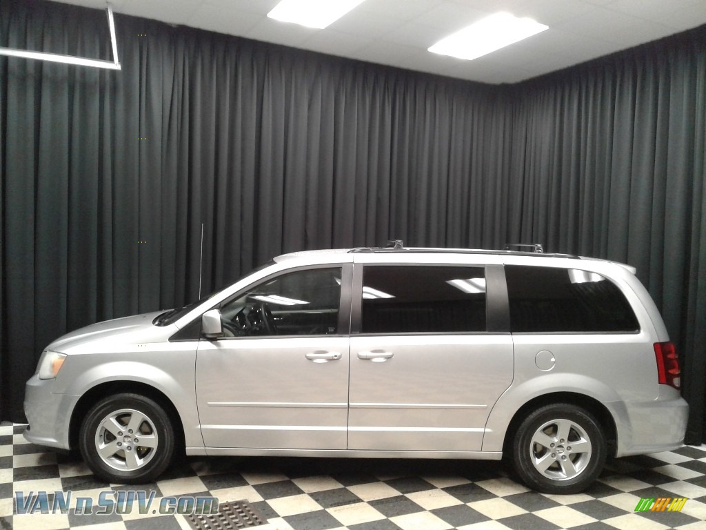 2012 Grand Caravan SXT - Bright Silver Metallic / Black/Light Graystone photo #1