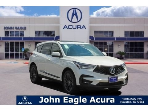 White Diamond Pearl 2019 Acura RDX A-Spec