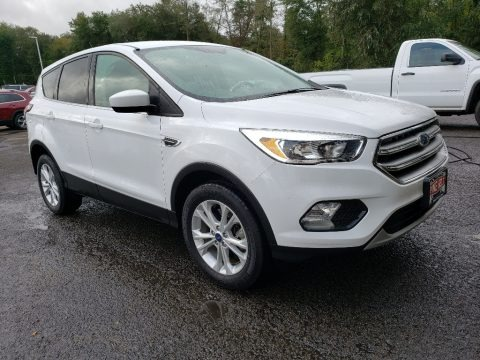 Oxford White 2017 Ford Escape SE 4WD
