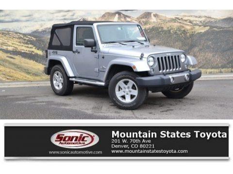 Billet Silver Metallic 2014 Jeep Wrangler Freedom Edition 4x4