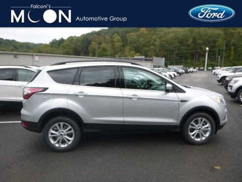 Ingot Silver 2018 Ford Escape SE 4WD