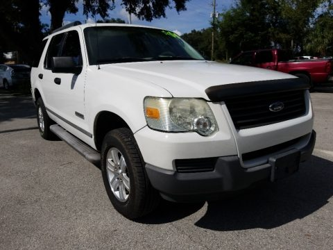 Oxford White 2006 Ford Explorer XLS