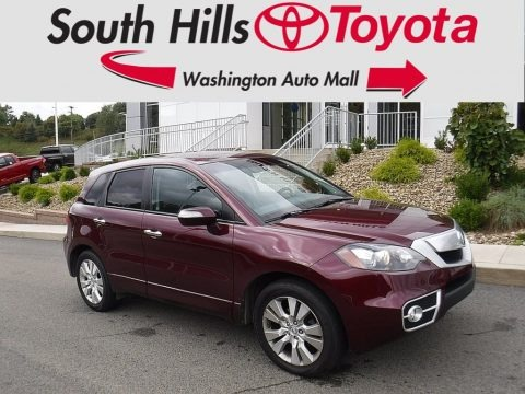 Basque Red Pearl 2010 Acura RDX SH-AWD Technology