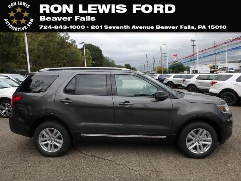Magnetic 2019 Ford Explorer XLT 4WD